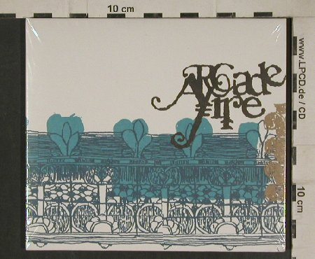 Arcade Fire: Same, Digi, FS-New, RTD(RTRADCD248), EU, 2004 - CD - 80516 - 10,00 Euro