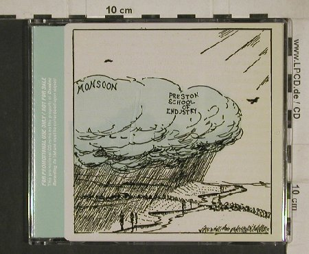 Preston School of Industry: Monsoon, Promo, 10 Tr., Domino(WIGcd135P), UK, 2003 - CD - 80563 - 7,50 Euro