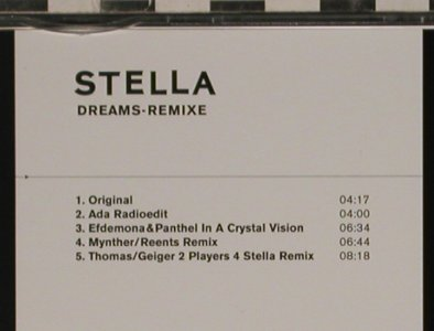 Stella: Dreams-Remixe, 5 Tr., L'Age D'Or(LADO 17158-3), EU, 2005 - CD5inch - 80566 - 4,00 Euro