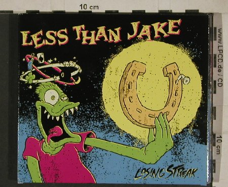 Less Than Jake: Losing Streak, Digi, Lim.Ed. Rem., Sleep It Off(), , 2011 - CD/DVD - 80741 - 7,50 Euro