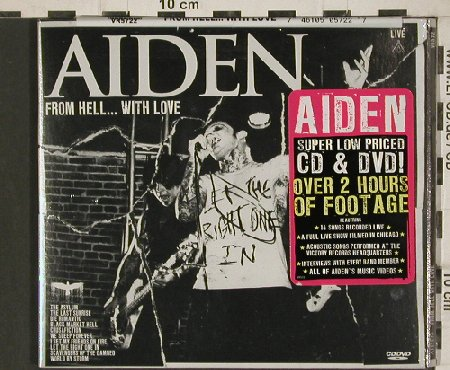 Aiden: Evil, Digi, FS-New, Victory(VR572), US, 2009 - CD/DVD - 80868 - 10,00 Euro