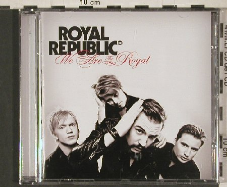 Royal Republic: We Are the Royal, Roadrunner(RR7764-2), , 2010 - CD - 80890 - 7,50 Euro