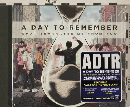 A Day to Remember: What Separates Me from You, FS-New, Victory(VR603), , 2010 - CD - 80897 - 10,00 Euro