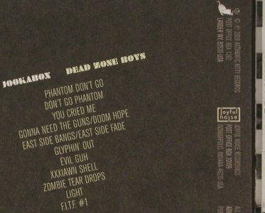 Dead Zone Boys: Jookabox, Digi, Asthmatic Kitty(AKR062/JNR40), US, 2009 - CD - 81149 - 7,50 Euro