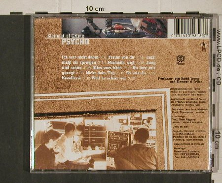 Element Of Crime: Psycho, Motor(), D, 1999 - CD - 81267 - 7,50 Euro