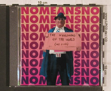 No Means No: The Worldhood Of The World, Virus(), UK, 1995 - CD - 82076 - 10,00 Euro