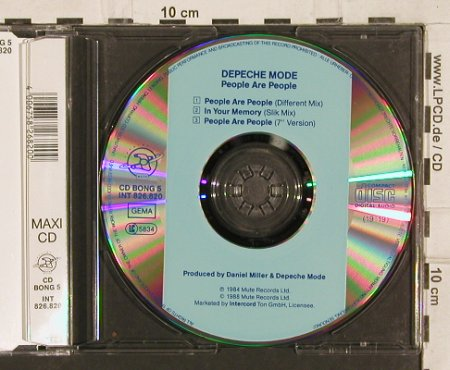Depeche Mode: People Are People*2+1, Mute CD Bong 5(826.820), D, 1988 - CD5inch - 82079 - 4,00 Euro