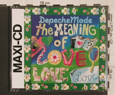 Depeche Mode: The Meaning of Love*2+1, Mute 22(INT 826.805), D, 1988 - CD5inch - 82083 - 4,00 Euro