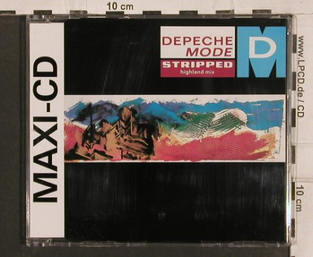 Depeche Mode: Stripped (highland mix) +4, Mute Bong 10(INT 826.835), D, 1986 - CD5inch - 82100 - 5,00 Euro