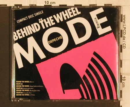 Depeche Mode: Behind The Wheel*4+3 Remix (1987), Mute Bong 15(INT 826.993), D, 1992 - CD5inch - 82109 - 7,50 Euro