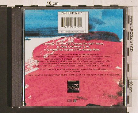 Depeche Mode: Home*2+2 ,(golf,LFO..), Mute cd bong 27(INT 8 84197 2), , 1997 - CD5inch - 82130 - 4,00 Euro