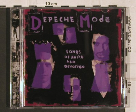 Depeche Mode: Songs Of Faith And Devotion, Mute(724384180225), NL, 1993 - CD - 82147 - 7,50 Euro
