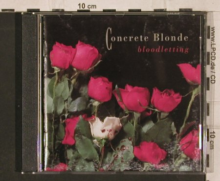 Concrete Blonde: Bloodletting, I.R.S.(24 1059 2), D, 1990 - CD - 82230 - 7,50 Euro