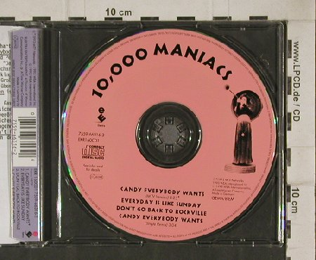 10.000 Maniacs: Candy Everybody Wants+3,Facts, Elektra(), D, 93 - CD5inch - 90410 - 7,50 Euro