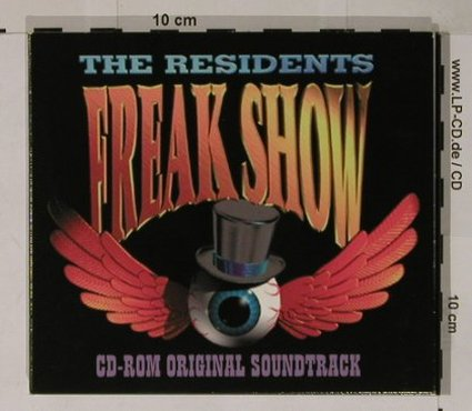 Residents: Freak Show-CD-Rom Orig Soundtr., Cryptic(005), Digi, 1994 - CD - 90485 - 11,50 Euro