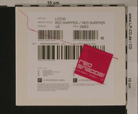 Red Snapper: Same, Digi, FS-New, LoRecordi(Lcd35), , 03 - CD - 90701 - 10,00 Euro