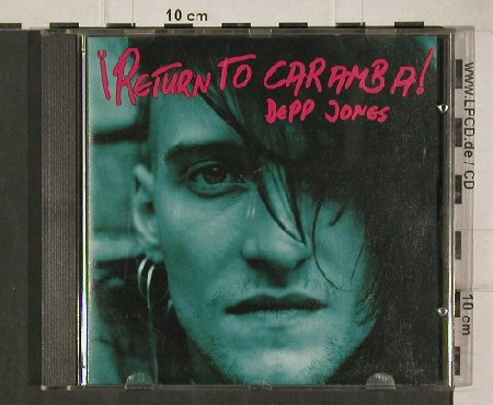 Deep Jones: Return to Caramba, CBS(), A, 1990 - CD - 90760 - 14,00 Euro