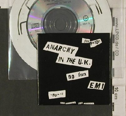 Sex Pistols: Anarchy In The U.K./ No Fun / EMI, Virgin(), A, 1983 - CD3inch - 90761 - 17,50 Euro