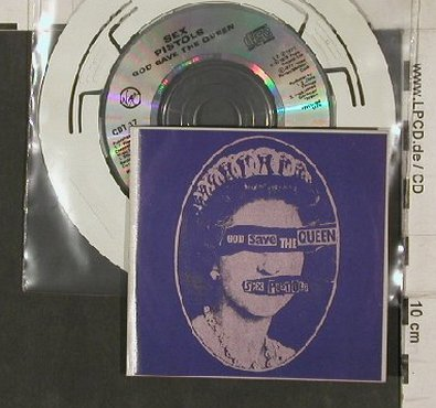 Sex Pistols: God Save The Queen+2, Virgin(CDT37), A,  - CD3inch - 90762 - 17,50 Euro