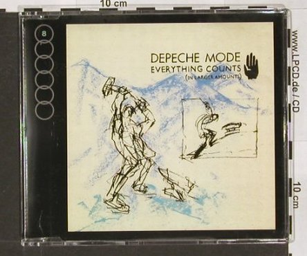 Depeche Mode: Everything Counts*2+2,largerAmount, Mute(CDBong3), D, 91 - CD5inch - 90938 - 10,00 Euro