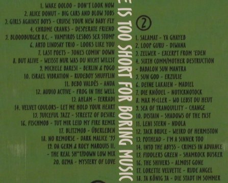 V.A.Life is too short...: for boring music, Vol.7, Digi, EFA(95-POP), D,Promo, 94 - 2CD - 91085 - 10,00 Euro