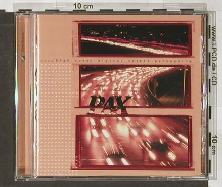Pax: High Speed Digital SpiritProcessing, ZothOmmog(237), D, 1999 - CD - 91123 - 10,00 Euro