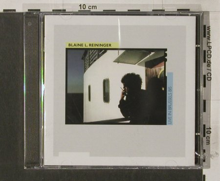 Reininger,Blane L.: Live in Brussels,02/1986, FS-New, LTM(), UK, 1987 - CD - 92166 - 11,50 Euro