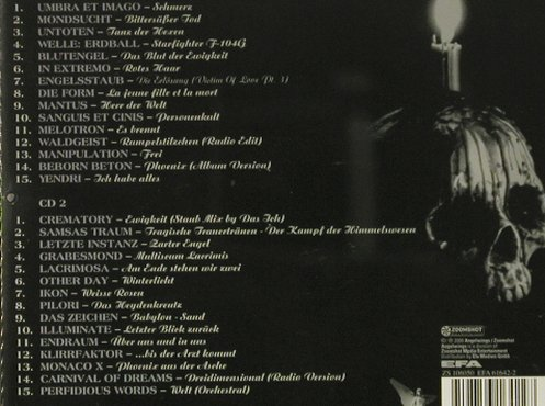 V.A.Schattentanz I: 30 Tr., Angelwings(), D, 2000 - 2CD - 92487 - 14,00 Euro