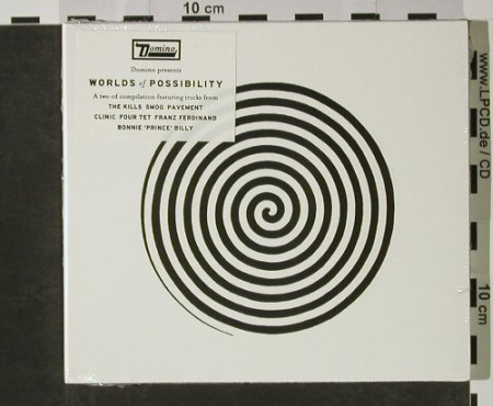 V.A.Worlds Of Possibility: A Two CD Compilation, FS-New, Domino(), ,  - 2CD - 92707 - 10,00 Euro