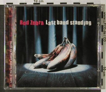 Red Zebra: Last Band Stand, FS-New, Halu(615), B,  - CD - 92825 - 9,00 Euro