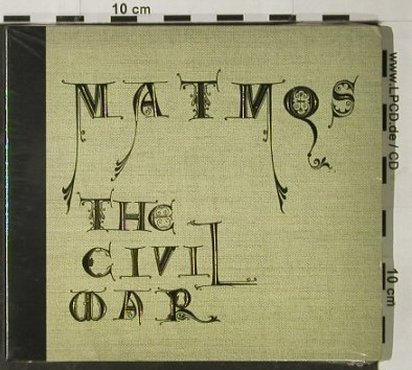 Matmos: The Civil War, Digi, FS-New, Matador(), , 2003 - CD - 92867 - 10,00 Euro