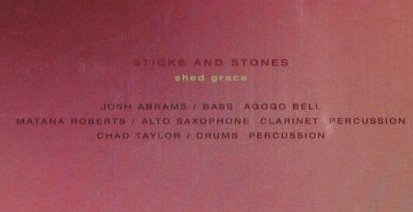 Sticks and Stones: Shed Grace, FS-New, ThrillJock(140), CDN, 2004 - CD - 93021 - 10,00 Euro