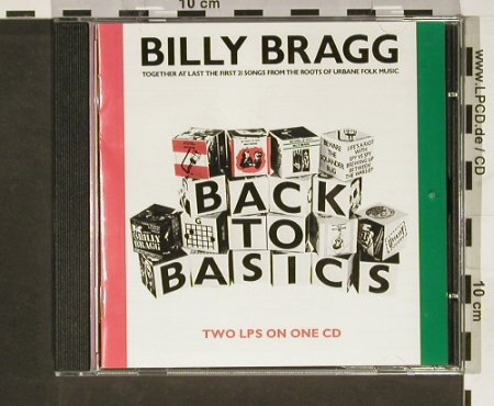 Bragg,Billy: Back to Basics, CookVinyl(COOK CD 060), UK, 1993 - CD - 93206 - 12,50 Euro