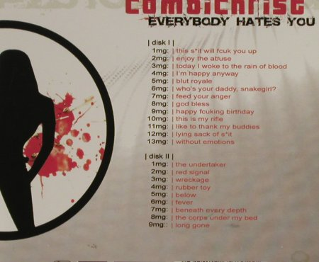 Combichrist: Everybody Hates You, Digi, Out Of Line(), D, 2005 - 2CD - 93282 - 12,50 Euro