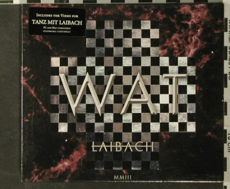 Laibach: WAT, Mute(Stumm 223), EU, 2003 - CD - 93401 - 12,50 Euro