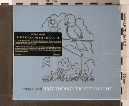 Russell,Arthur: First Thought Best Thought,Boxed, Rough Trade(RTRADCD 310), EU, 2006 - 2CD - 93703 - 12,50 Euro