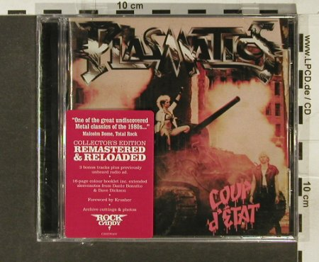 Plasmatics: Coup d'Etat, 14 Tr., FS-New, Rock Candy(), UK, 2005 - CD - 94180 - 11,50 Euro