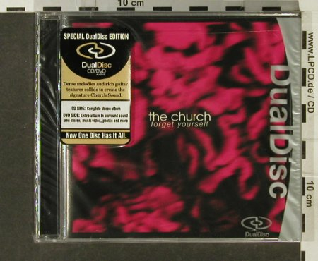 Church: Forget Yourself ,Dual Disc, FS-New, Silverline(), US, 2005 - CD - 94194 - 11,50 Euro