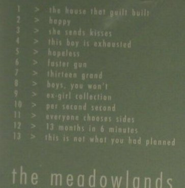 Wrens: The Meadowlands, FS-New, Lo-Max(), , 2005 - CD - 94477 - 10,00 Euro