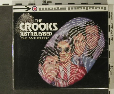 Crooks,The: Just Released, Boxed, FS-New, Sanctuary(CMDDD 603), UK, 2002 - 2CD - 95116 - 12,50 Euro