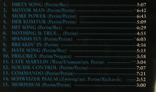 Peron,Carlos: 13 Years Of Lust-Best Of Vol.1, Dark Star(1346-2), D, 1994 - CD - 95165 - 11,50 Euro