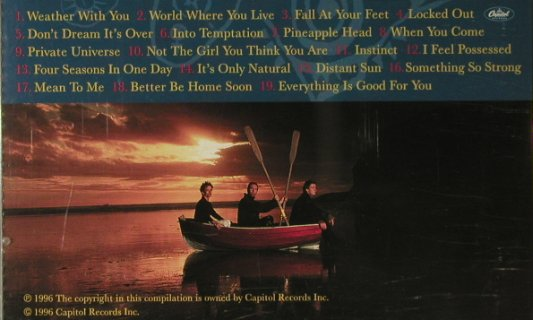 Crowded House: Recurring Dream-Very Best, Capitol(), UK, 1996 - CD - 95464 - 10,00 Euro