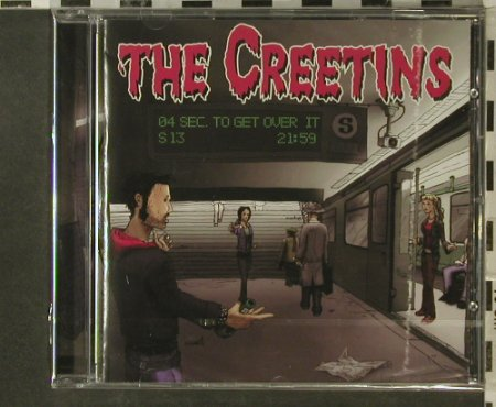 Creetins: 4 Seconds to Get Over It, FS-New, Vitaminpillen(VP3), , 2007 - CD - 95669 - 10,00 Euro