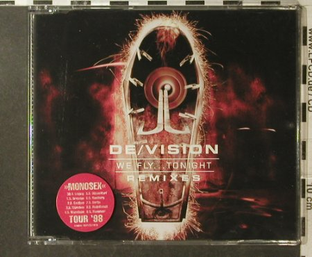 De/Vision: We Fly...Tonight Remixes*4, WEA(), D, 1998 - CD5inch - 95928 - 4,00 Euro