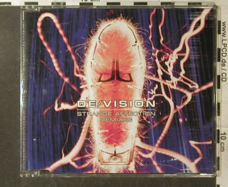De/Vision: Strange Affection*3+1 Remixes, WEA(), D, 1998 - CD5inch - 95929 - 4,00 Euro
