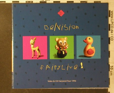De/Vision: Fairylive!, Digi, Strange Ways Records(Way 152), D, 1997 - CD - 95930 - 10,00 Euro