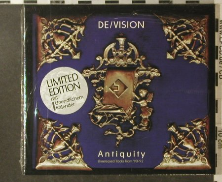 De/Vision: Antiquity,unrel.Tracks 90-92,Digi, Indigo(1222-2), D, 1995 - CD - 95934 - 11,50 Euro