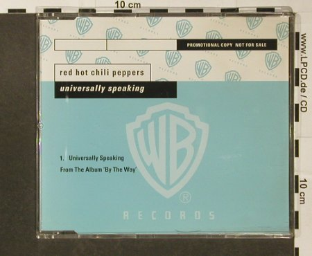 Red Hot Chilli Peppers: Universally Speaking,1Tr.Promo, WB(), D, 2003 - CD5inch - 96659 - 3,00 Euro