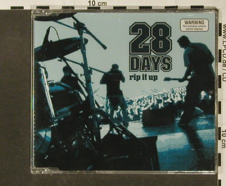 28days: Rip it Up +2 live, FS-New, MUSH(019512), , 2003 - CD5inch - 96759 - 4,00 Euro