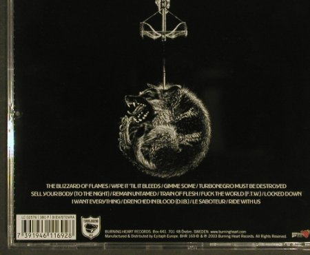 Turbonegro: Scandinavian Leather, Burning H.(), , 2003 - CD - 96912 - 10,00 Euro